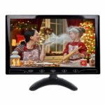 10.1 inch HD CCTV Monitor Small LCD Monitors Screen with HDMI/VGA/AV Port for DVR/PC/DVD/Home Office Surveillance Secure System