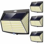 【4 Pack】228 LED Solar Security Lights Outdoor