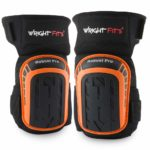 WrightFits Knee Pads for Work Heavy Duty Gel Cushion Pads Perfect for Construction