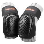 VUINO Professional Heavy Duty EVA Foam Padding Knee Pads with Comfortable Gel Cushion and Adjustable Straps for Working
