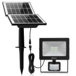 MEIHUA Solar Flood Lights with Motion Detector