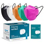 Tayogo FFP2 Face Masks-20 Pcs 5 Color 5-Ply High Filtration Disposable Respirator Non Medical-CE Certified